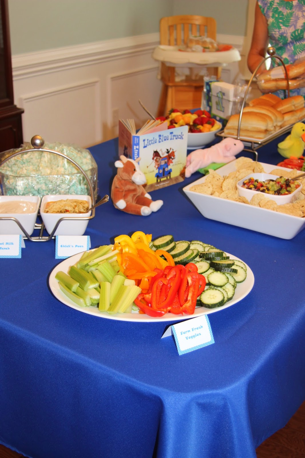 Childless A Little Blue Truck Birthday Party