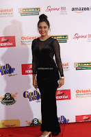 Vennela in Transparent Black Skin Tight Backless Stunning Dress at Mirchi Music Awards South 2017 ~  Exclusive Celebrities Galleries 001.JPG