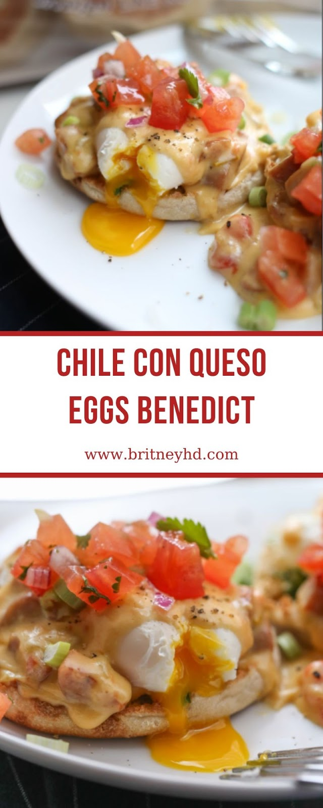 CHILE CON QUESO EGGS BENEDICT