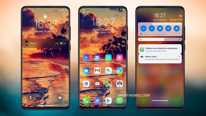 iOS 14 v11 MIUI Theme | Get Complete iOS 14 Look and Feel