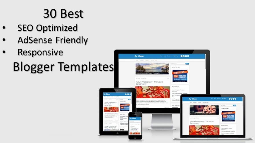 30 Best SEO Optimized AdSense Friendly Responsive Blogger Templates ...