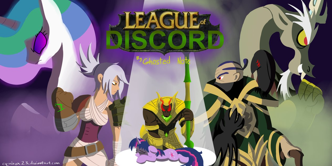 Equestria Daily   MLP Stuff   Story  League of Discord  Update Story     Story  League of Discord  Update Story 2 Part 24