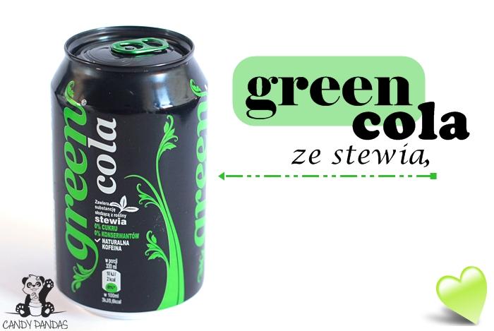 Green Cola ze stewią