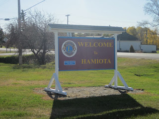 Hamiota Lion's Club Sign.
