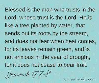 Scriptures To Trust God