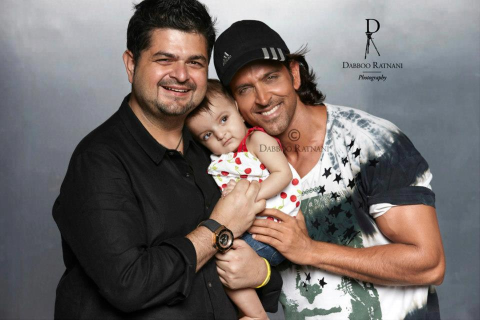 Pictures of Hrithik Roshan Son And Daughter - #rock-cafe