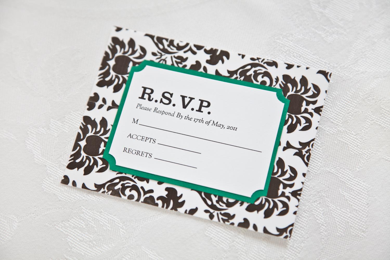 damask wedding invitations damask wedding invitations diy damask wedding invitation and rsvp card