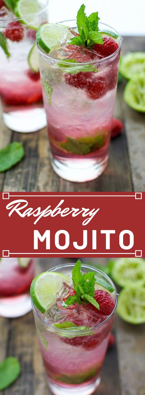 RASPBERRY MOJITO #mojito #drink #raspberry #easy #sangria
