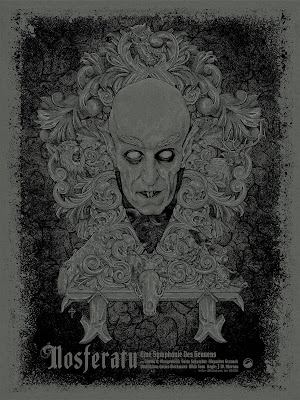 Nosferatu Dusk Edition Screen Print by Timothy Pittides