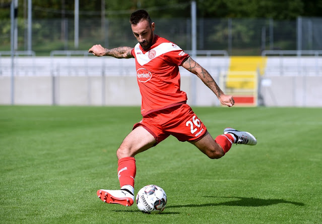 Diego Contento to leave Fortuna Düsseldorf without playing a single Bundesliga game