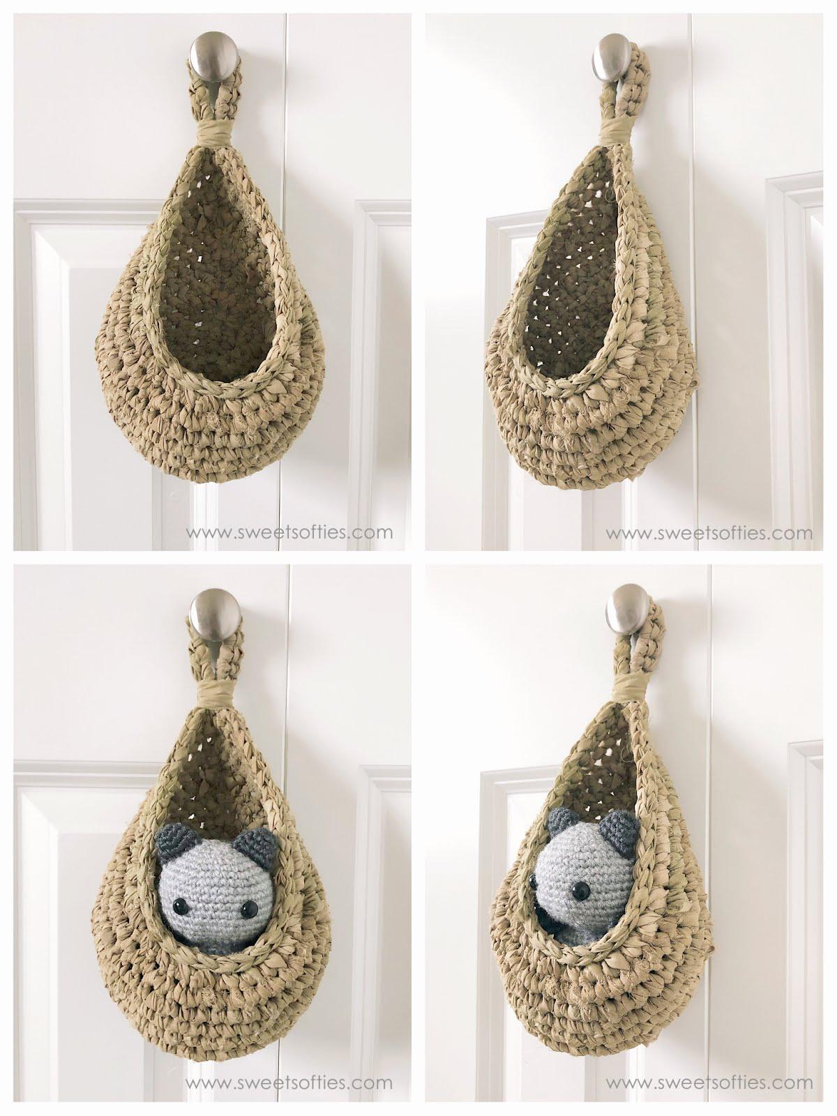 46 Free & Amazing Crochet Baskets For Storage (med bilder) | Hekle ... | 1600x1200