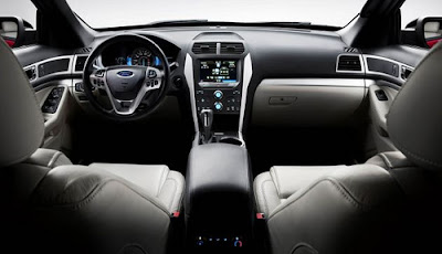Ford Explorer Sport Interior