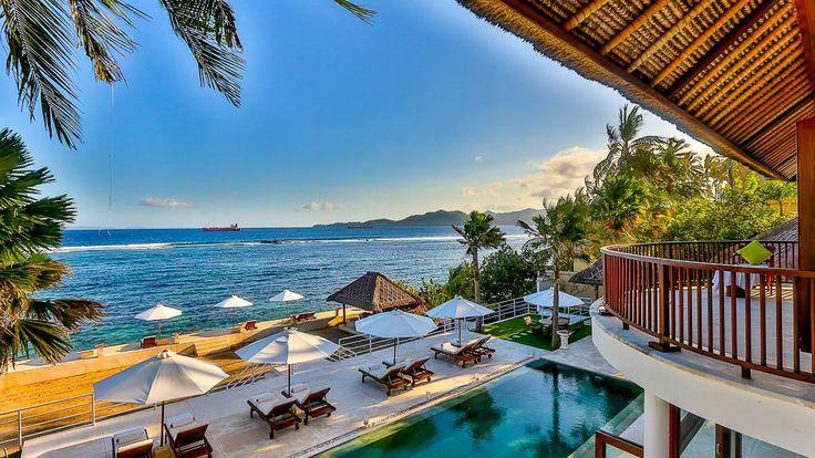 villa di bali menghadap pantai yang nyaman dan indah wa 081212747287 rh kliksoreang com