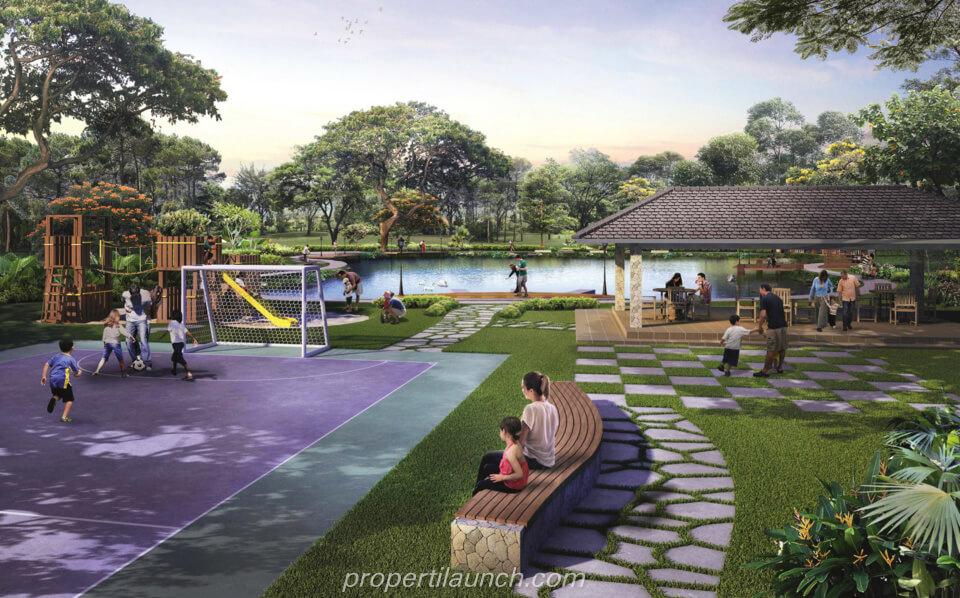 Fasilitas Perumahan Srimaya Residence Bekasi