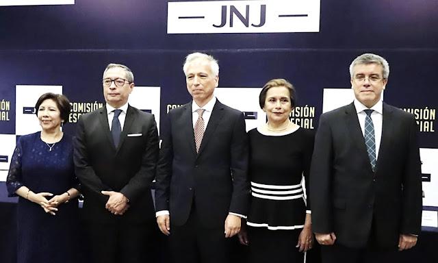 Cinco miembros Junta Nacional de Justicia