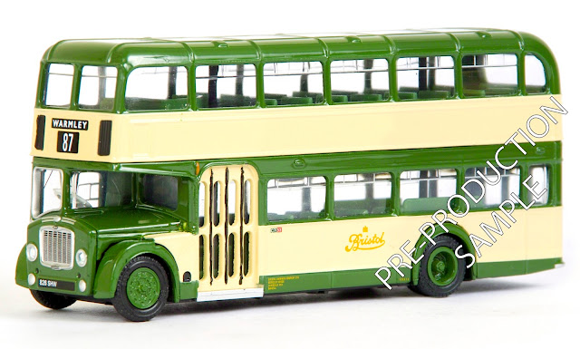 EFE PRE-PRO SMAPLE 14017 - Bristol FLF Lodekka - Bristol Omnibus Registration number 826 SHW, fleet number C71 33. Working route 87 to Warmley. Scheduled for a October Release  RRP £34.50