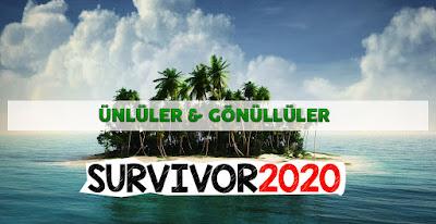 cemal can canseven kim,derya can göçen,tuğba melis türk,tugba melis turk,fatma günaydın,survivor ünlüler gönüllüler,derya can,cemal can seven,cemal can,şaziye ivegin üner,cemal can canseven,survivor ünlüler kadrosu,şaziye ivegin,ırmak atuk,ırmak atuk survivor,survivor gönüllüler,survivor ünlüler,survivor 2020 de kimler var,survivor 2020 kimler var,survivor kimler var,2020 survivor oyuncuları,survivor oyuncuları