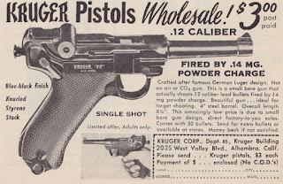 Kruger Handgun Paper Ad