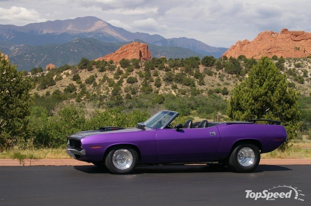 medium resolution of 1964 plymouth barracuda purple top speed collection