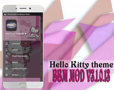 BBM Mod Pink Theme Terbaru dan Terupdate