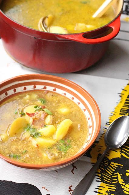 soupe pommes de terre espagne