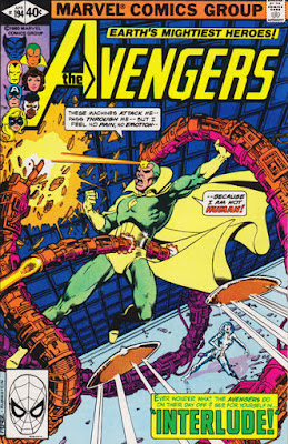 Avengers #194, the Vision
