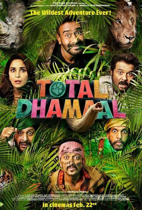 Total Dhamaal 2019 Full Movie Download 720p Khatrimaza