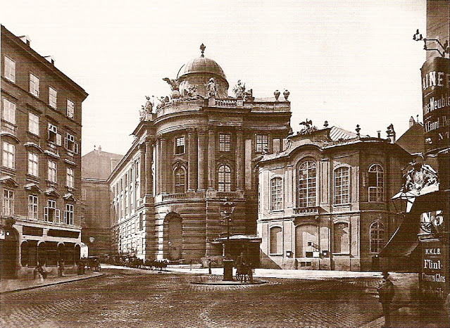The old Burgtheater in Vienna where Gluck's Orfeo ed Euridice was premiered