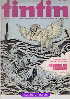 Tintin numéro 38, 1976, L'ombre du Corbeau