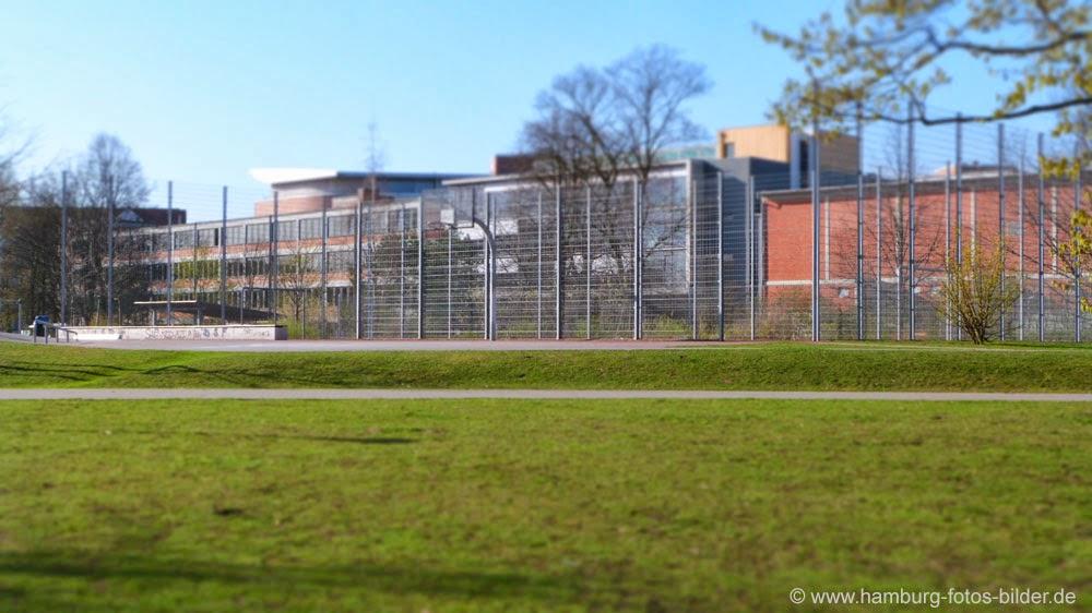 Bolzplatz für Fussball in Hamburg Barmbek Winterhude