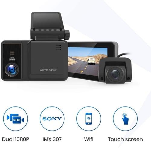 Review AUTO-VOX AD2 WiFi Dash cam FHD Camera