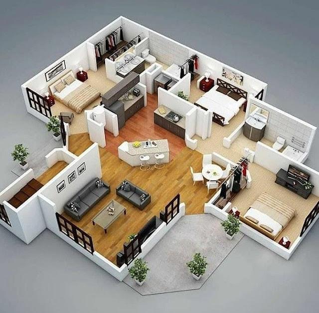 Desain Rumah Minimalis Ukuran 8x10 Terbaru