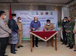 Cegah Karhutla Dimasa  Pandemi COVID -19 PT RAPP Luncurkan Inovasi Holistik Program Desa Bebas Api di Siak