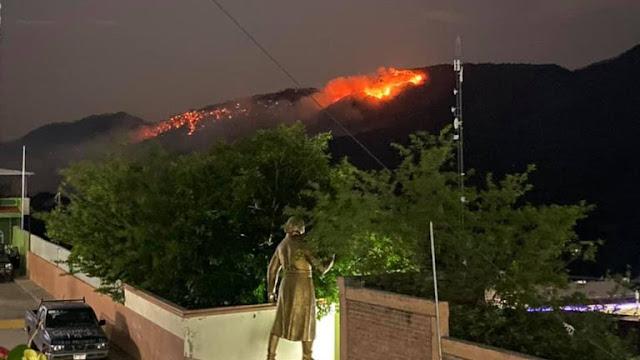 Video: Sicarios de El CJNG queman hasta cerro en Tierra Caliente Michoacan y presumen arrebato de casas y coches de los contrarios