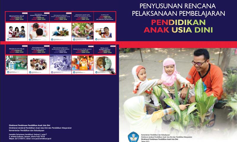 Buku Panduan Pedoman Penyusunan RPP Kurikulum 2013 PAUD Terbaru
