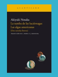 Akiyuki Nosaka, novelas breves, EL ACANTILADO