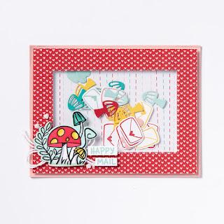 Stampin' Up! Snailed It Corner Flip Card + 6 Bonus Snail Mail Projects ~ January-June 2021 Mini Catalog ~ www.juliedavison.com #stampinup