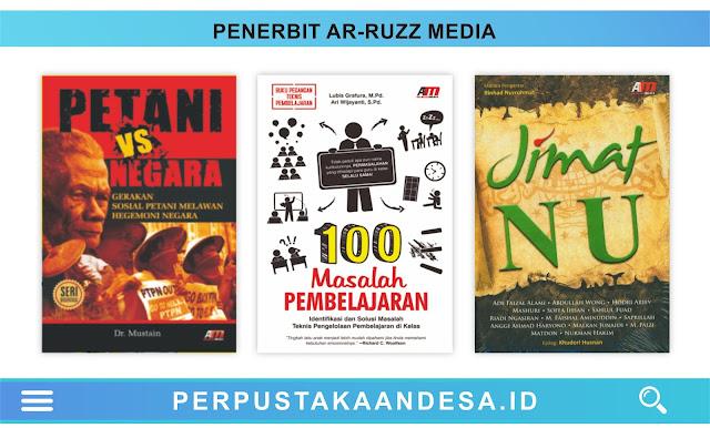 Daftar Judul Buku-Buku Penerbit Ar-Ruzz Media