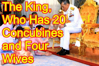 The King, Who Has 20 Concubines and Four Wives, Details About His Luxurious Life Revealed