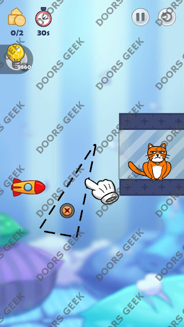 Hello Cats Level 74 Solution, Cheats, Walkthrough 3 Stars for Android and iOS