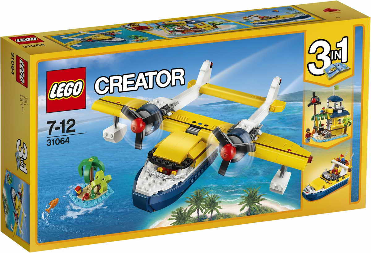 lego gossip 211116 lego 31064 seaplane adventures box art and more pictures. Black Bedroom Furniture Sets. Home Design Ideas