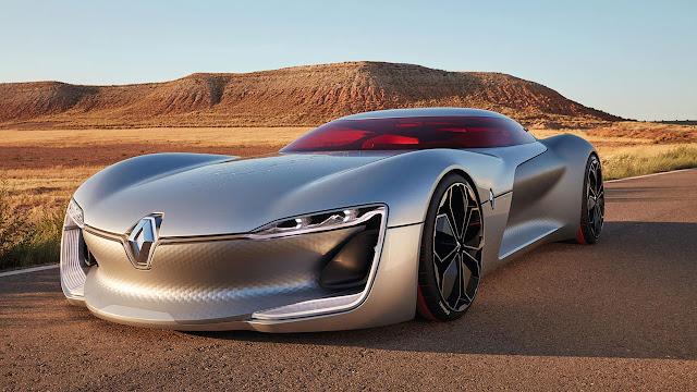 Renault Trezor Concept Car: An electric GT