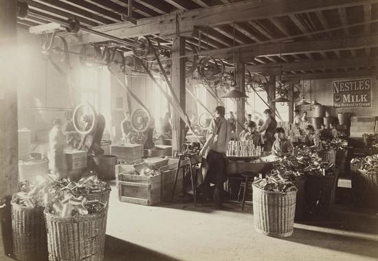 Nestlé factory 1890