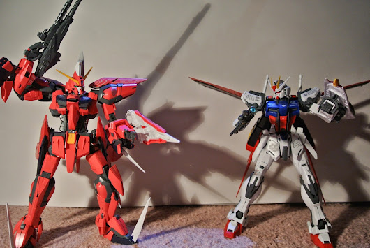 Review: MG Aile Strike Gundam Remastered