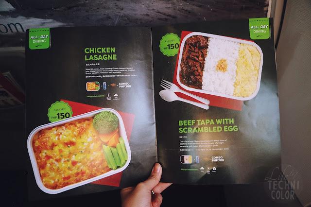 AirAsia in Iloilo Santan Chicken Lasagne