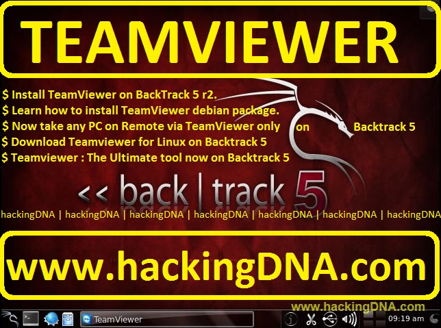 TeamViewer On BackTrack 5 | HackingDNA