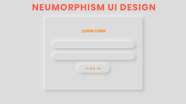 Form UI Design with CSS Neumorphism