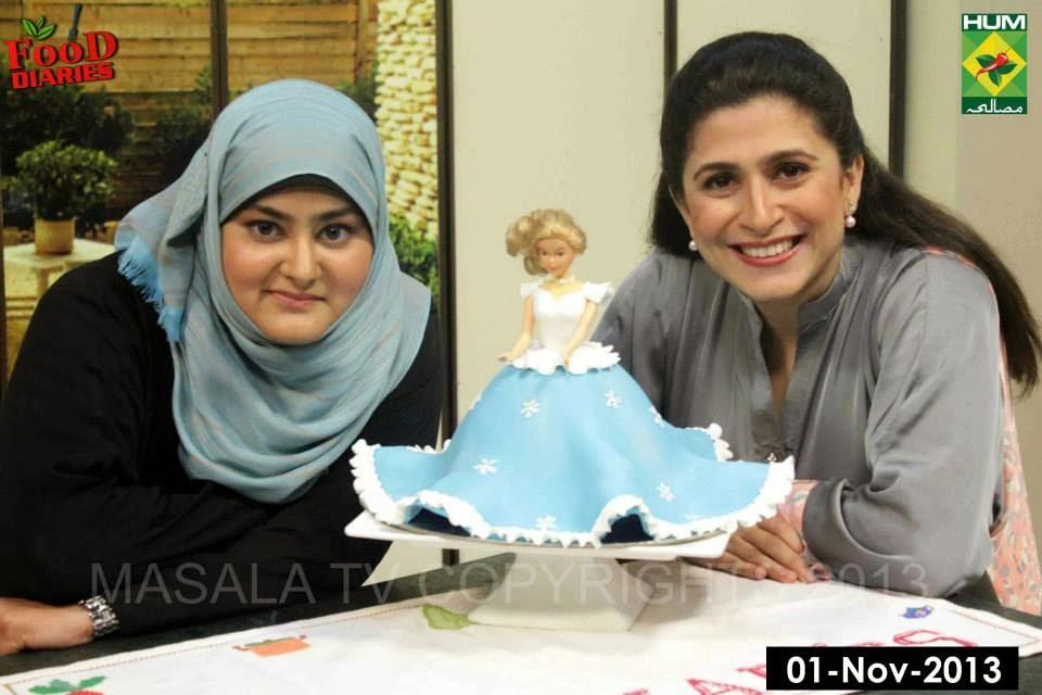 Cake Icing Recipe By Zarnak: Zarnak's Food Diaries: Barbie Doll Cake