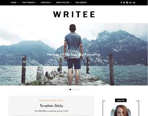 Writee: Blog/Magazine Wordpress Theme