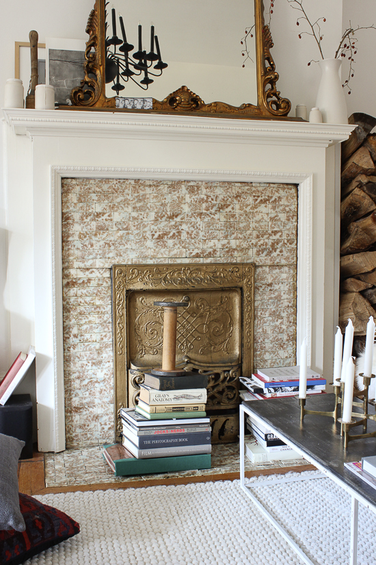 Stream of Consciousness In search of fireplace tiles